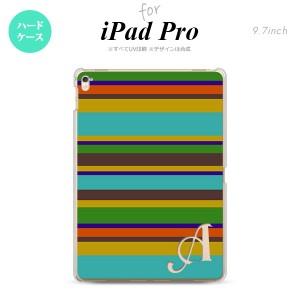 【iPad Pro】【スマホケース/スマホカバー】【アイパッド プロ】iPad Pro スマホケース カバー アイパッド プロ イニシャル ボーダー タ