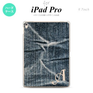 【iPad Pro】【スマホケース/スマホカバー】【アイパッド プロ】iPad Pro スマホケース カバー アイパッド プロ イニシャル ジーンズ  nk