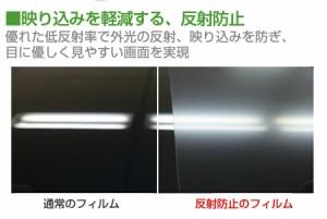 メール便送料無料/パナソニック Let's note MX4 CF-MX4DDFJR[12.5インチ]ブルーライトカット 指紋防止 液晶保護フィルム と 衝撃吸収 タ