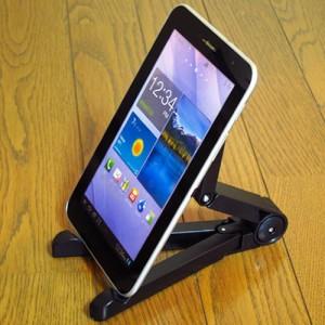 メール便送料無料/Lenovo TAB3 SoftBank[8インチ] タブレットスタンド 軽量コンパクトタイプ 携帯可能 角度調節自在