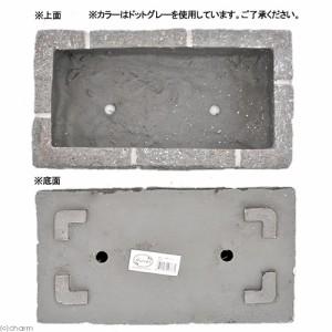 FRPレンガ調プランター 430F ホワイトP(W43×D23×H19cm)
