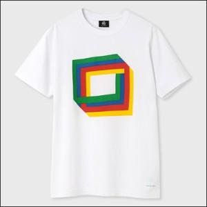 ポールスミス ポール・スミス Cube プリントTシャツ ホワイト S