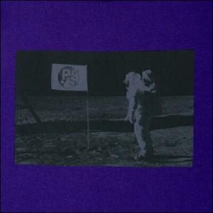 ポールスミス ポール・スミス Man On The Moon プリントTシャツ パープル S