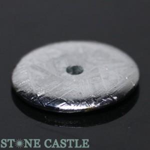 ☆高品質☆【天然石 置き石】ドーナツ型(ピーディスク) 30mm ギベオン隕石 パワーストーン