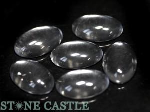 【天然石 置き石】ルース 天然水晶 約15x10mm (6個セット) (数量限定商品) パワーストーン