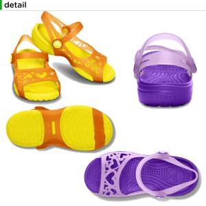【30%OFF】クロックス(crocs) アドリナ ハート サンダル(adrina hearts sandal)/キッズ/サンダル/シューズ/子供用