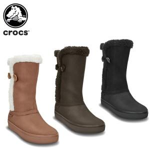 【46%OFF】クロックス(crocs) モデッサ シンセティック スエード ボタン ブーツ ウィメン(modessa synthetic suede botton boot)