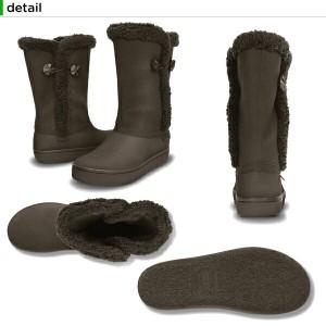 【40%OFF】クロックス(crocs) モデッサ シンセティック スエード ボタン ブーツ ウィメン(modessa synthetic suede botton boot)