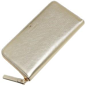 【あす着】ケイトスペード 財布 KATE SPADE PWRU4065 711 CEDAR STREET LACEY 長財布 GOLD