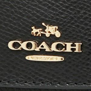 【あす着】コーチ 財布 アウトレット COACH F52689 IMBLK クロスグレイン レザー スリム エンベロープ ウォレット 長財布 ブラック