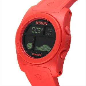 ニクソン 時計 メンズ/レディース NIXON A3851156 THE RHYTHM リズム 腕時計 ウォッチ レッド/ブラック