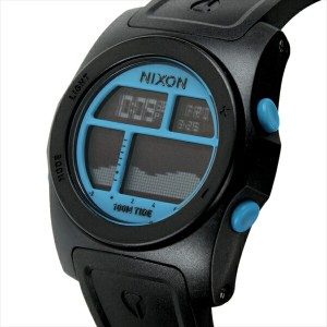ニクソン 時計 メンズ NIXON A385930 THE RHYTHM リズム 腕時計 ウォッチ ブラック/ブルー
