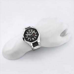 ニクソン 時計 メンズ/レディース NIXON A397000 THETANGENT タンジェント 腕時計 ウォッチ シルバー/ブラック