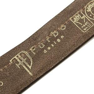 【あす着】フルボデザイン ベルト メンズ Furbo design FBI008 イタリアンレザーベルト サイズ調整可能 ベルト BROWN/BROWN