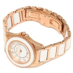 【あす着】フォリフォリ 腕時計 レディース FOLLIFOLLIE WF1R001BDW   CERAMIC 4 SEASONS ホワイト/ピンクゴールド