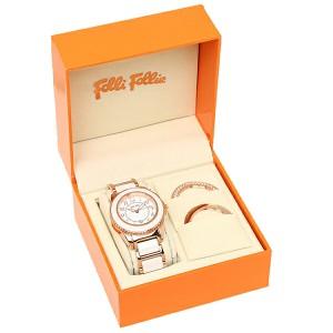【あす着】フォリフォリ 腕時計 レディース FOLLIFOLLIE WF1R001BDW CERAMIC 4 SEASONS ホワイト/ピンクゴールド tem_b