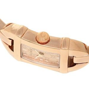 【あす着】グッチ 時計 レディース GUCCI YA068585 6800シリーズ 腕時計 ウォッチ コパー/ピンクゴールド レディース