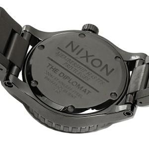 ニクソン 時計 メンズ NIXON A2771885 DIPLOMAT ディプロマット 腕時計 ウォッチ ポリッシュガンメタル/ラム