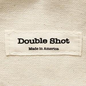 【あす着】ダブルショット バッグ DOUBLE SHOT DS0016-CL-NVBK LEATHER BANDANA CLUTCH クラッチバッグ NAVY/BLACK