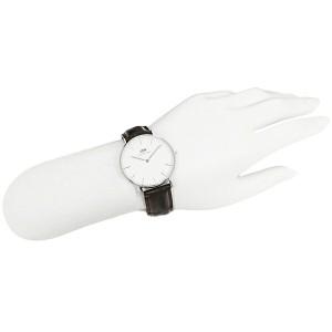 ダニエルウェリントン 時計 メンズ/レディース Daniel Wellington 0610DW ベルト36 CLASSIC クラシック 腕時計 YORK/SILVER