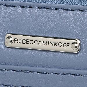 【あす着】レベッカミンコフ バッグ REBECCA MINKOFF HF35EFCX01 418 FASHION CLASSICS MINI MAC ショルダーバッグ DEEP DENIM/SILVER