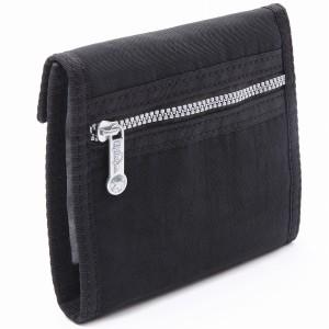 【24H限定PT20%還元】キプリング 財布 レディース KIPLING K13763 900 BASIC FUTURIST 2つ折り財布 BLACK