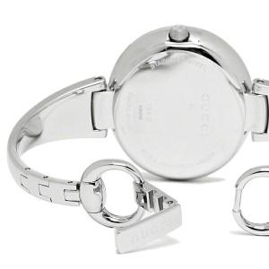 【あす着】グッチ 時計 レディース GUCCI YA134301 GUCCISSIMA グッチシマ 腕時計 ウォッチ ブラック/シルバー