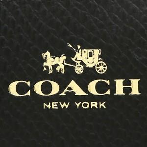 【あす着】コーチ コインケース アウトレット COACH F63921 IMBLK スモール ダブル ジップ コインケース 小銭入れ ブラック