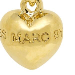 マークバイマークジェイコブス ピアス MARC BY MARC JACOBS M0004277 067 STAR AND PUFFY HEART スターハート ゴールド/シルバー
