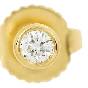 【あす着】ティファニー ピアス アクセサリー TIFFANY&Co. 12818653 18K ダイヤモンド バイザヤード 0.10ct 18Y イエローゴールド