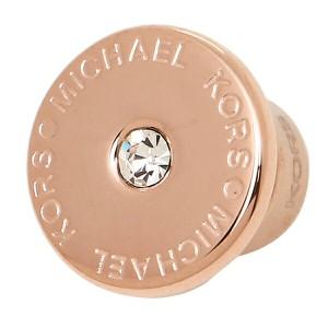 【あす着】マイケルマイケルコース ピアス MICHAEL MICHAEL KORS MKJ4670791 LOGO EARRINGS ローズゴールド