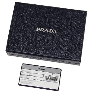 【あす着】プラダ メンズ 長財布 PRADA 2MV836 053 F0002 ネイビー