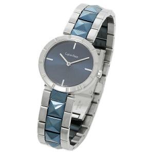 カルバンクライン 腕時計 レディース CALVIN KLEIN K5T33T4N シルバー ブルー