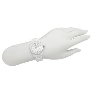 【あす着】シャネル 腕時計 レディース CHANEL H0968 J12 ジェイトゥエルヴ ホワイト