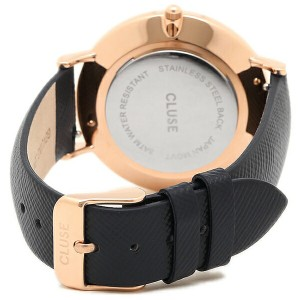 【あす着】クルース 腕時計 CLUSE CL18029 ミッドナイトブル− ロ−ズゴ−ルド ホワイト