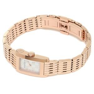 グッチ 腕時計 GUCCI YA086517 ホワイト ローズゴールド レディース