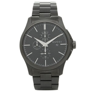 【24H限定PT20%還元】グッチ 腕時計 GUCCI YA126274 ブラック レディース