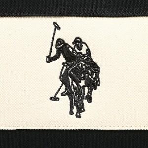 【あす着】ユーエス ポロ トートバッグ レディース US POLO ASSN USPA 2501 ブラック ホワイト ブラウン