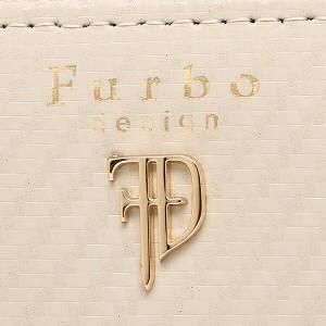 フルボデザイン メンズ 長財布 Furbo design FRB116 ホワイト レッド