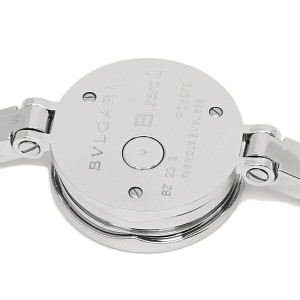 BVLGARI 腕時計 レディース ブルガリ BZ23BSS M ブラック シルバー
