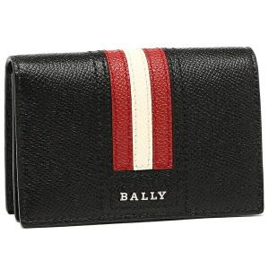 【あす着】バリー メンズ カードケース BALLY 6218025 10 ブラック