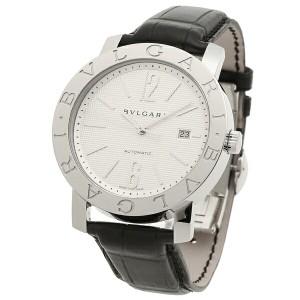 BVLGARI 腕時計 メンズ ブルガリ BB42WSLDAUTO ホワイト シルバー ブラック
