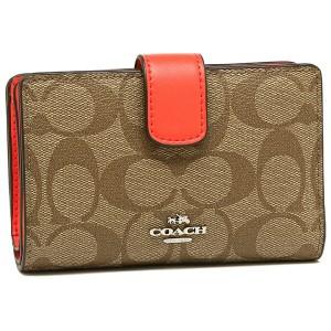 【あす着】コーチ 二つ折り財布 レディース アウトレット COACH F54023