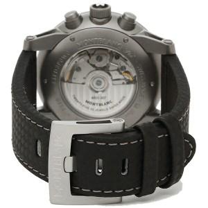 モンブラン 腕時計 メンズ MONTBLANC 112604 シルバー ブラック