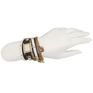 ラメール コレクションズ 腕時計 レディース LA MER COLLECTIONS LMCW7004 ブルー ホワイト ゴールド ホワイト