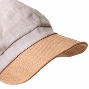 セール/帽子/2個1000円引き/シンプル無地レース装飾チュールリボン付き麻素材キャスケット/レディース icas0113