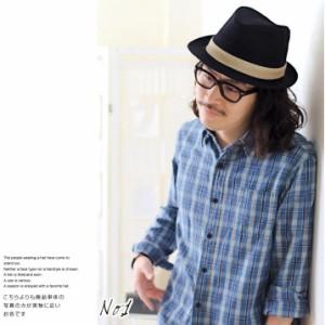 帽子/2個1000円引き/麻素材のナチュラルハット中折れハット中折れ帽子/2個1000円引き/メンズレディース cnak0036