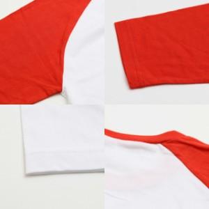 [メール便]レディース無地ラグラン7分袖Tシャツ ゆうメール ※ラッピング不可 disp0552  特価