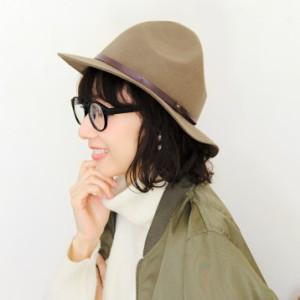 2個1000円引き/帽子/レザーコード巻きマウンテンハットつば広ウールフェルトハット/メンズレディース chat0582