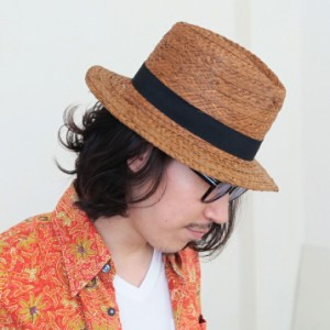 セール/2個1000円引き/帽子/ラフィア麦わら帽子中折れハットつば広帽子/メンズレディース cnak0526